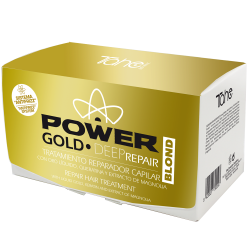 Anti-frizz GOLD POWER DEEP REPAIR pro blond vlasy (ampulky 6x10 ml)